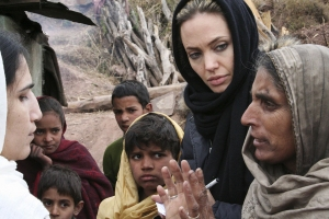 UNHCR Ambassador Angelina Jolie Tours Pakistan