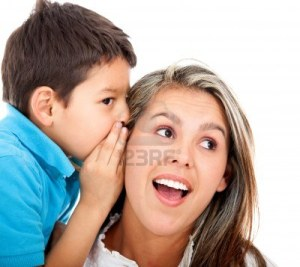 13746018-boy-telling-his-mother-a-family-secret--isolated-over-a-white-background