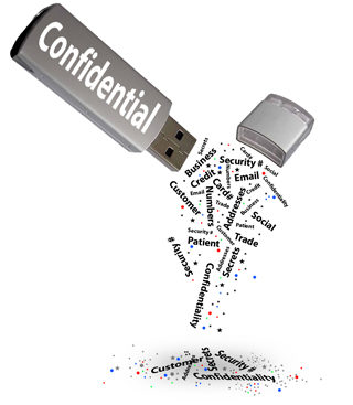 ConfidentialFlashDriveLeaking