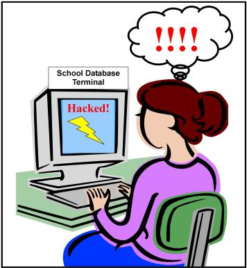 Hacked-School-Database-Graphic