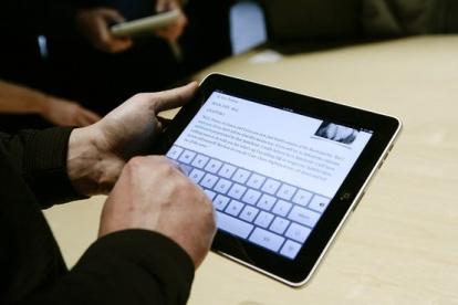 iPad-user