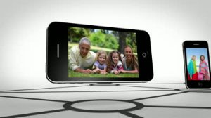 stock-footage-animation-of-family-happy-together-on-smartphone-screen